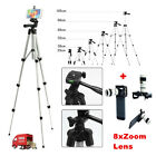 Professional Camera Tripod Stand Mount Holder for Smartphone iPhone Samsung