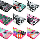 For Apple iPhone 6 & Plus Design Silicone Dynamic Case+Tempered Glass Screen