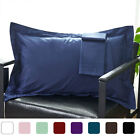 Pillowcases Pillow Shams Zipper Solid Color 4pcs - Standard/Queen/King/Boudoir