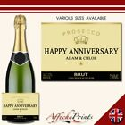 L5S Personalised Celebration Occasion Prosecco Brut Bottle Label - Various Sizes