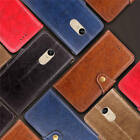 Fr Xiaomi Redmi Note4/4X Thin Classic Leather Card Wallet Case Cover+Wrist Strap