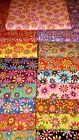 Flower Power 100% cotton fabric By The Yard U pick color #b10