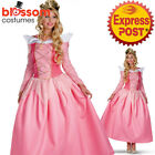 K393 Sleeping Beauty Aurora Princess Costume Fancy Dress Up Fairy Tale Costume