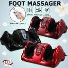 3D Deluxe Ankle Calf Motors Foot Massager Circulation Health Machine Reflexology