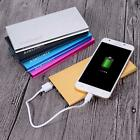 Aimilcall 20000mAh External Battery Power Bank Wall Charger Cable 2 Port USB