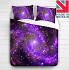3D Galaxy Stars Space Duvet Cover Bedding Set Single ,Double ,King
