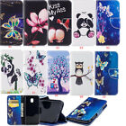 Panda Patterned Magnetic PU Leather Flip Wallet Case Cover For Samsung Galaxy