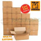 Single Wall Stock Cardboard Cartons Boxes 22X14X14""