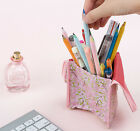 Standing Pencil Case Pocket Bag Cute Pencase Box Holder Stationery Organizer