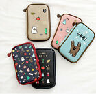 Ghost Pop Multi Pencil Case Pocket Cute Bag Passport Holder Stationery Organizer
