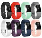 8-Pack Silicone Bracelet Strap Replacement Band for Fitbit Charge 2