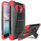 For ZTE Imperial Max Z963U/Kirk Z988/Max Duo Hybrid Armor Shockproof Stand Case