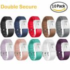 10-Pack S/L Adjustable Sport Strap Band for Fitbit Charge 2 Fitness Smart Watch
