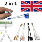 For iPhone 7/7 Plus 2 in 1 3.5mm Aux Headphone Jack Audio Adapter Cable Cord