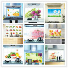 Oil-proof Kitchen Keep Clean Foil Wall Stickers Decal Mural Art Kitchen Decor