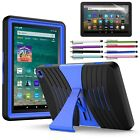 kindle fire hd case amazon - Amazon Kindle Fire HD 8 Case, 7th Generation Shockproof Rubber Stand Hard Case
