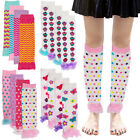 4pk Princess Expressions Baby-Toddler Girls Leg Warmers Patterned Dance Ruffles