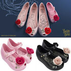 New Mini Melissa Beauty and the beast Jelly Shoes Jelly Sandals Girls Princess -