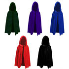 Unisex Cloak Vampire Witch Prince Cosplay Clothes Cap Prank Props Halloween Kids
