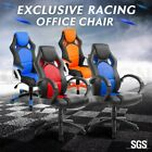 Exclusive Gaming Racing Office Computer Chair Adjustable Seat w/ Lumbar Support