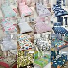 KIDS SINGLE DUVET COVER SETS BOYS GIRLS BEDDING UNICORN DINOSAUR PRINCESS BIRDS