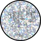 Glitter - Holographic Jewel Silver Makeup Face Body Paint Professional