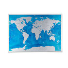Sea World Scratch Map Ocean Wall Stickers Traveling Poster