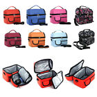 Durable Large Capacity Insulated Cooler Lunch Bag with Adjustable Shoulder Strap