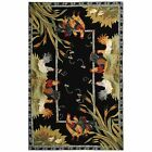 August Grove Isabella Black Rug