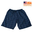 Mens Comfy 100% Cotton Boxer Shorts Underwear Briefs Shorts Underpants