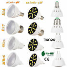 GU10 MR16 E27 E14 LED Spot Lights 4W 5W Bulbs 7030 SMD Lamp 220V Ultra Bright UK