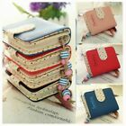 Fashion Lady Short Purse Clutch Wallet Zip Bag Coin Card Small Folding Handbag