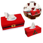 Внешний вид - Christmas Tissue Box Cover Holder Home Office Car Paper Box Table Storage Bags
