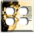 AUDREY HEPBURN BREAKFAST AT TIFFANY'S LIGHT SWITCH OUTLE WALL PLATE ROOM DECOR