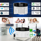 LCD Home Security Wireless GSM Autodial Burglar Intruder Alarm System Detector