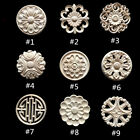 Внешний вид - Round Wood Carved Applique Frame Onlay Cabinet Furniture Decoration Unpainted