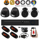 HD 4CH HDMI Video Recorder +CCTV DVR Outdoor Cameras Home Security System Kit UK