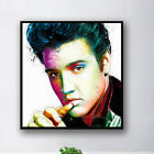 Frameless Elvis Oil Painting Wall Canvas Wall Hanging Print Office Home  Decor