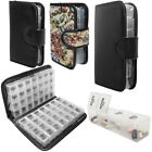 Travel - Daily Pill Organizer Portable Travel Case 7 & 14 Day Weekly AM PM Planner w Lock