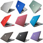 Rubberized Matte Hardshell Hard Case Cover With Keyboard Skin For Apple MacBook