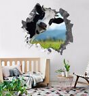 3D Funny Cattle 3309 Wall Murals Wall Stickers Decal Breakthrough WALLPAPER AU