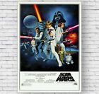 Star Wars A New Hope Movie Poster, Large Wall Art, Photo, Print, Picture #055