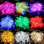 Christmas Light Waterproof 10M/20M 100/200LEDs Fairy Party String Lights UK Plug