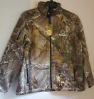 Large Mens Realtree Xtra NFL Chicago Bears Huntsman Softshell Jacket Camo Coat