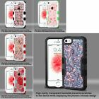 Hybrid Shockproof Rugged Hard Back Case Cover Bumper For Apple iPhone 5 & 5s SE