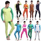Hot Men's Winter Slim Fit Household Thermal Cotton Underwear Shirt+Leggings Set