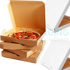 100 Plain Pizza Boxes 8 9 10 12 14 Inch Postal Boxes Pizza Box in Multiple Sizes