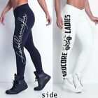 UK Sexy Womens Gym Yoga Running Fitness Leggings Sports Pants Athletic Trousers