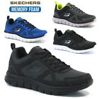MENS SKECHERS MEMORY FOAM LIGHTWEIGHT FITNESS RUNNING WALKING TRAINERS SHOES NEW