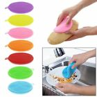 Silicone Dish Washing Sponge Scrubbers Home Kitchen Cleaning Mat Washing Tools